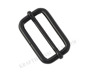 "1.5"" (38mm) Matte Black Adjuster with Movable Bar"