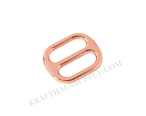 "3/4"" (20mm) Rose Gold Cast Adjuster"