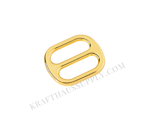 "3/4"" (20mm) Yellow Gold Cast Adjuster"