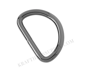 2 inch (51mm) Gunmetal Welded D-Ring