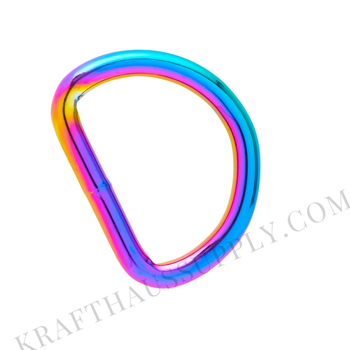1.5 inch (38mm) Rainbow Welded D-Ring