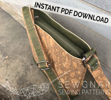 Load image into Gallery viewer, Mini Box Tote PDF Digital Sewing Pattern by SEWGNAR