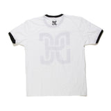 White Ringer Short Sleeve T-Shirt