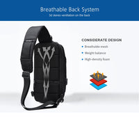 Men's Anti-Theft Shoulder Backpack