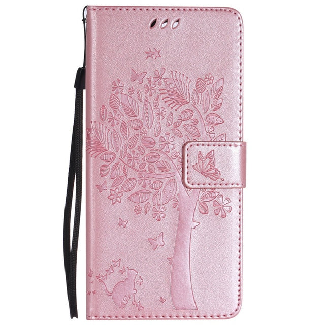 Samsung Galaxy Leather Wallet Phone Case