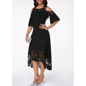 Womens Formal Off Shoulder Dress