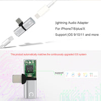 Dual 2 In 1 Ports Adapter for iPhone