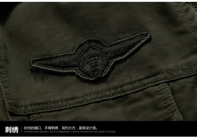 Men's Military Bomber Jacket