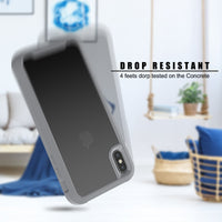 Transparent Military Shock Absorption iPhone Case