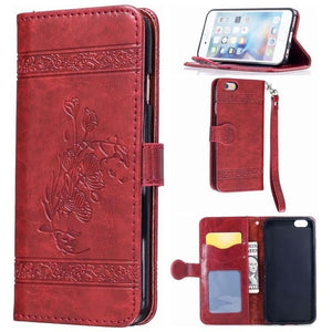 Luxury Wallet iPhone Case