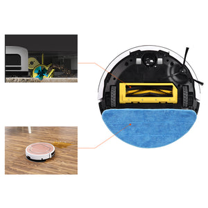 Robot Vacuum Cleaner Sweep for Carpet & Hard Wood Floors