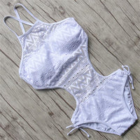 Women's One Piece Lace Swimsuit