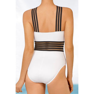Women's One Piece Bandage Swimsuit