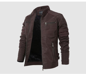 Men's Leather & Suede Fashion Jacket