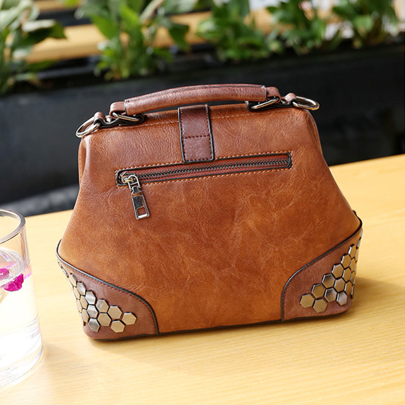 Women's Small Leather Handbag