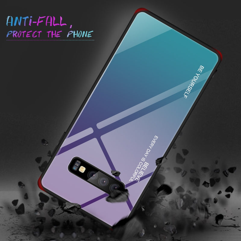 Samsung Galaxy Tempered Glass Phone Case