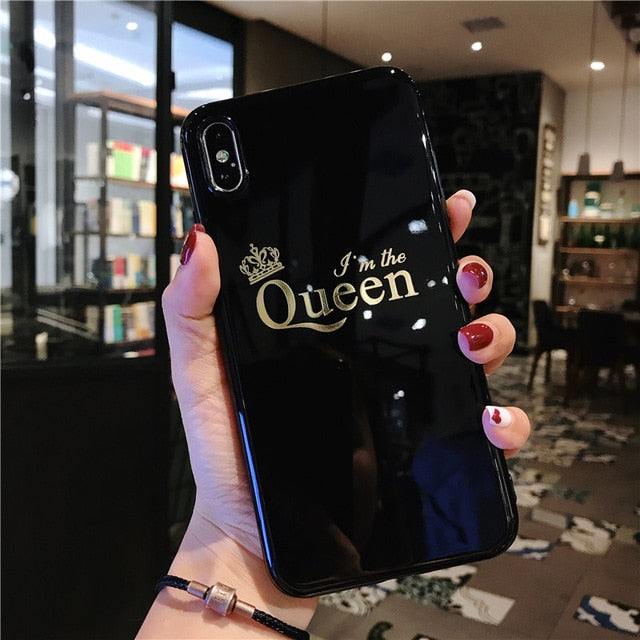 King & Queen iPhone Cases