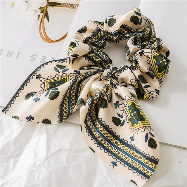 Women's Silk Hair Scrunchies