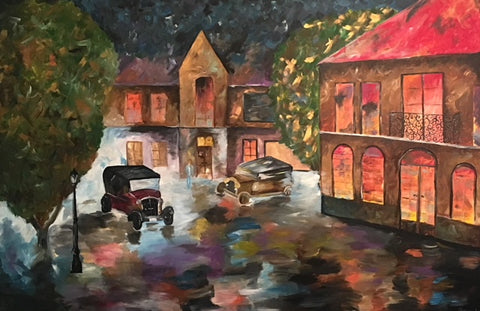 Cars - Devora's Paintings, Painting - Jewish Art Prints, Devora Rhodes - Devora Davidowitz Rhodes, Devora Rhodes Collection - World of Color Studios