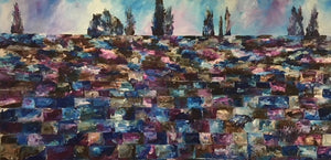 Kotel In The Sky - Devora's Paintings, Painting - Jewish Art Prints, Devora Rhodes - Devora Davidowitz Rhodes, Devora Rhodes Collection - World of Color Studios