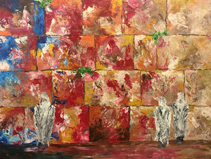 Kotel on Fire - Devora Rhodes Collection