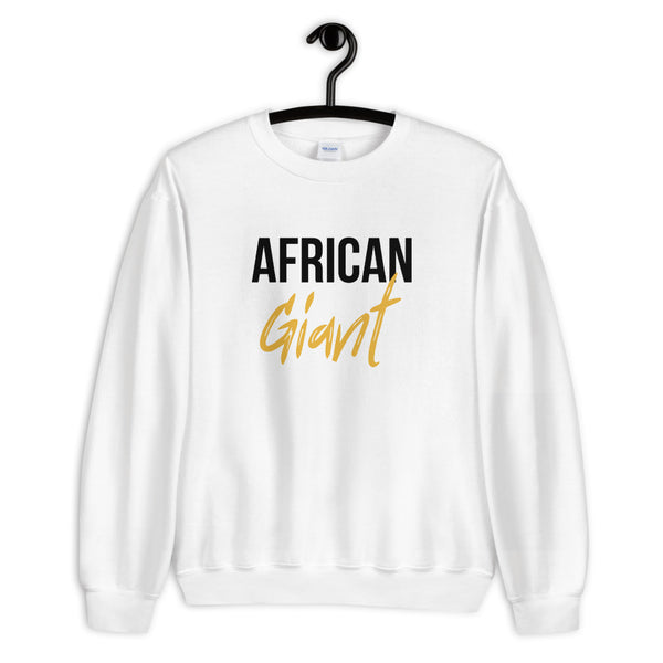 African Giant Sweatshirt - White