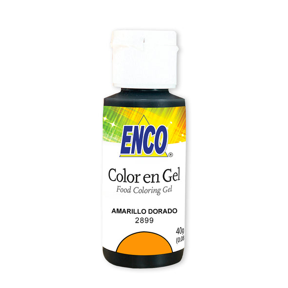 Color en gel Amarillo Dorado - Enco