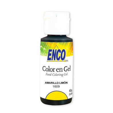 Color en gel Amarillo Limon - Enco