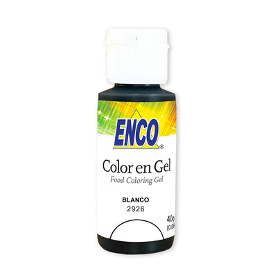 Color en gel blanco - Enco