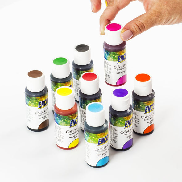 Kit 9 Colores en Gel - Enco