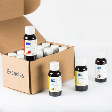 Kit 15 Esencias de Panificación 60ml