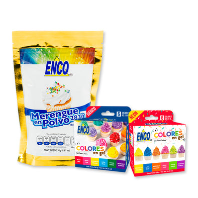 #1 - Kit (3 productos: Merengue 250g, Kit básico 20g y Kit Neón 20g)