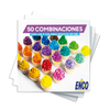 Kit 30 Colores en Gel 40g