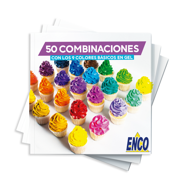 Kit 9 Colores en gel 250g - Enco