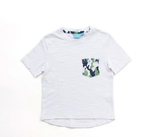 White Camo Pocket Tee