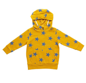 Military Yellow Star Hoodie