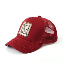 Load image into Gallery viewer, 2019 New Fashion Bros Baseball Cap Men Women Animal Farm Trucker Eye Of The Tiger Cas Hat Woodpecker Lion
