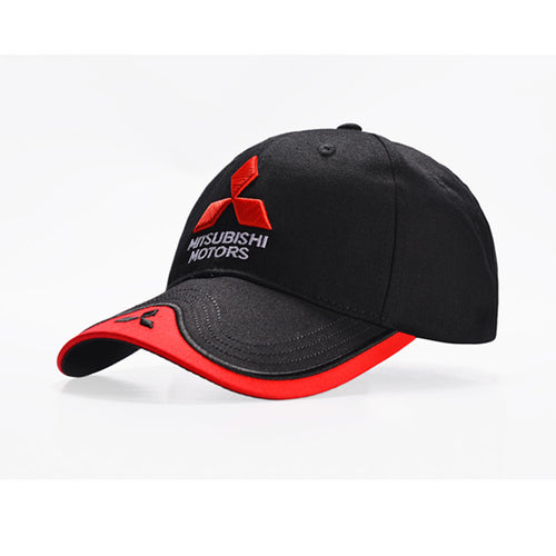 Baseball Cap Mitsubishi logo Embroidery Casual Snapback Hat 2019 New Fashion High Quality Man Racing Motorcycle Sport hat