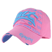 Load image into Gallery viewer, 12 Color Wholesale Men Women Baseball Cap Hip Hop Fitted Cheap Hats Fashion Damage Snapback Caps Curved Brim Gorras