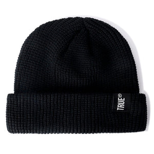 Letter True Unisex 10 Colors Sailor Fishermans Winter Beanie Hat Ribbed Knitted Melon Cap Solid Skullcap Baggy Retro Ski Hat