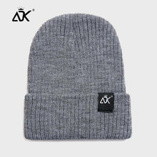 Load image into Gallery viewer, Men's Hat Winter Autumn Soft Cap Simple Ribbed Cuffed Hats Brimless Bonnet Breathable Casual Beanies Hip Hop Fisherman Cap