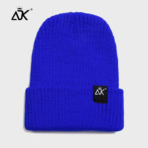 Men's Hat Winter Autumn Soft Cap Simple Ribbed Cuffed Hats Brimless Bonnet Breathable Casual Beanies Hip Hop Fisherman Cap