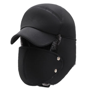Coldproof Men Women Hats Caps Mask Set Earmuffs Thickened Warm Winter For Outdoor Cycling Windproof Cotton Cap Hunting Hat Masks