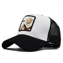 Load image into Gallery viewer, Flymotyl Cotton Snapback Caps for Men Embroidery Horse Baseball Cap Women's Breathable Mesh Trucker Bone rooster Hip Hop hats