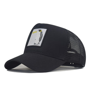 Flymotyl Cotton Snapback Caps for Men Embroidery Horse Baseball Cap Women's Breathable Mesh Trucker Bone rooster Hip Hop hats