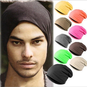 Spring Women Men Unisex Knitted Winter Cap Casual Beanies Solid Color Hip-hop Snap Slouch Skullies Bonnet beanie Hat Gorro