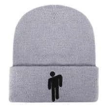Load image into Gallery viewer, Billie Eilish Beanie Hat Knitted Embroidery Women Winter Hat Boys Girls Hip-hop Casual Cuffed Beanies Bonnet Unisex Cap