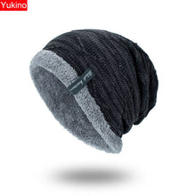 Load image into Gallery viewer, Winter Hat Men Beanies For Men Caps Fluffy Thick Kalpak Male Mens Winter Caps Skullies Bonnet Homme Hiver #815