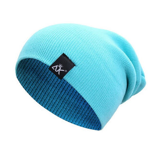 Litthing New Fashion  striped knitted cap candy outdoor hip-hop wool cap autumn and winter wool cap