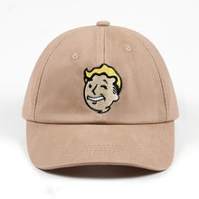 Load image into Gallery viewer, 100% Cotton Pip boy Fallout 4 Baseball Cap Fallout Shelter Dad Hat Pip-Boy Embroidery Snapback Game Lovers Women Men Casquette